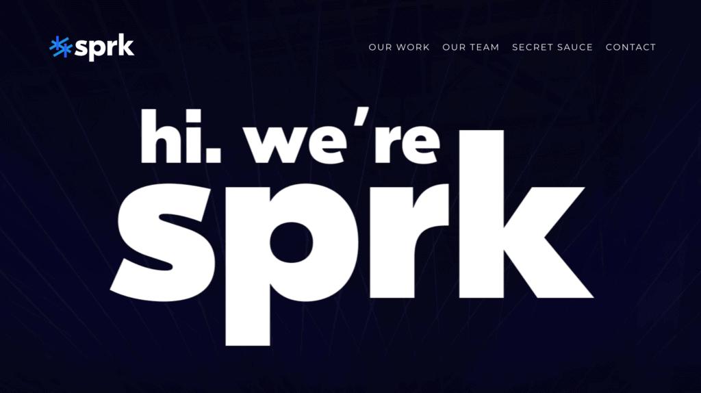 sprk homepage